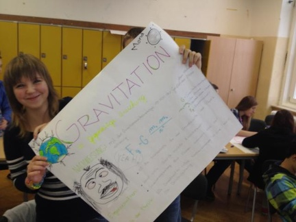 Gruppenarbeit Gravitation 10