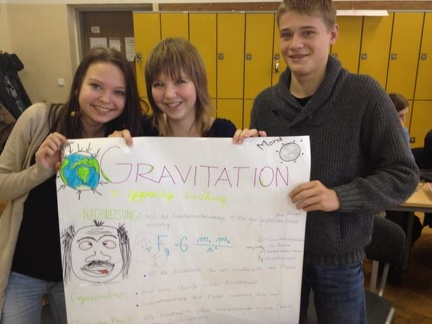 Gruppenarbeit Gravitation 12
