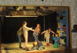 2015-03-18 1a Theaterimprovisationsworkshop im Theatermuseum am Lobkowitzplatz
